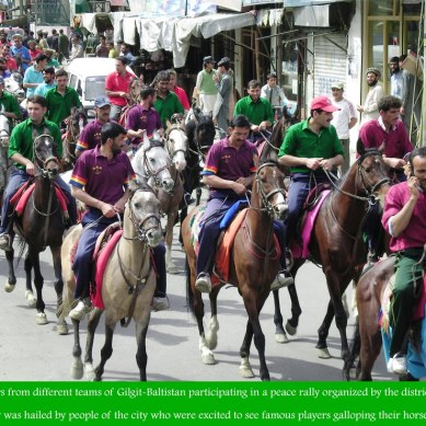 Polo players advocate peace and harmony in Gilgit – Baltistan