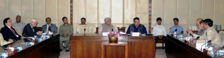 Meeting of the Standing Committee underway at the Senate on 15th April 2013