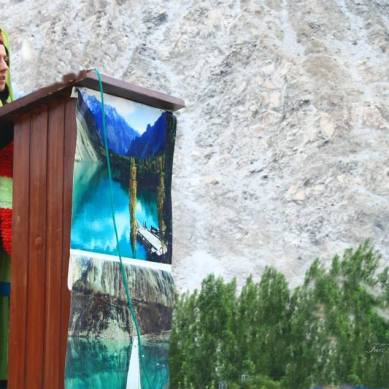 Rousing welcome for Samina Baig and Mirza Ali in Hunza Valley