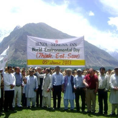 World Environment Day celebrated by Serena Hotels Gilgit-Baltistan