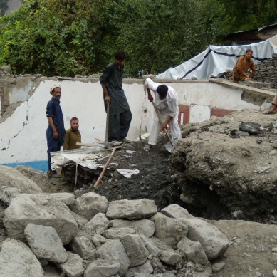 Chitral's vulnerabilities, and climate change