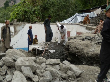 Monsoon Rains Cause Flash Floods and Landslides in Chitral