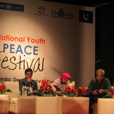 Gilgit-Baltistan represented at 4th National Youth Peace Festival held in Lahore