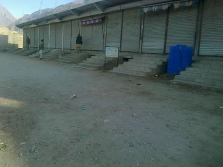 Gahkuch: Market closed in Ghizer