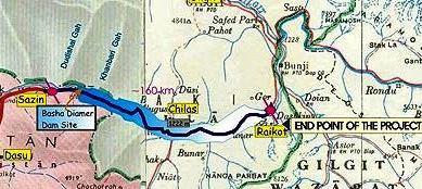 Dispute: Force to be deployed at Diamer-Bhasha border