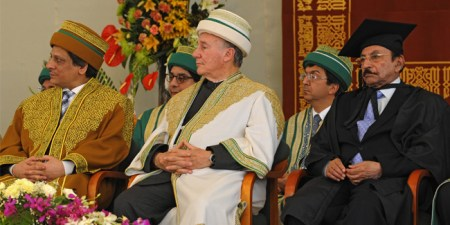 The convocation was attended by Governor and Chief Minister Sind