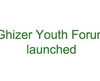 Ghizer Youth Forum launched