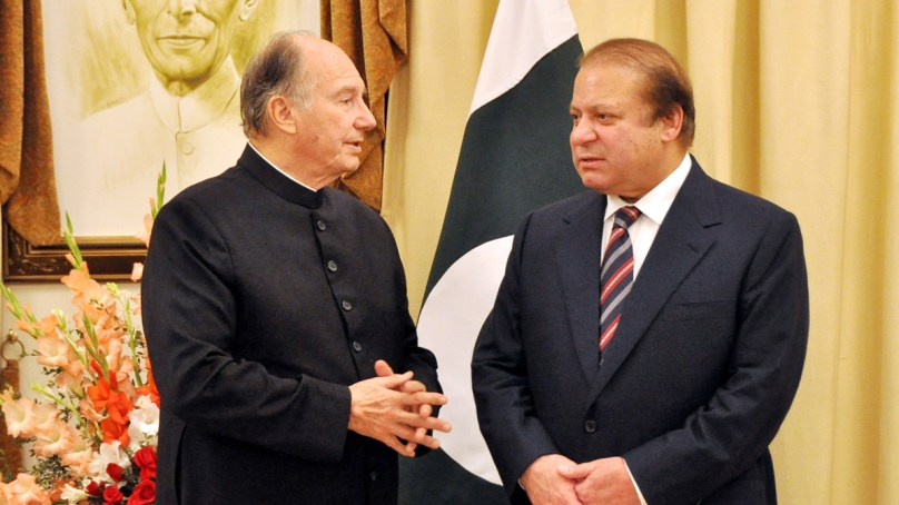 Aga Khan Development Network is a model for other organizations: PM Nawaz Sharif