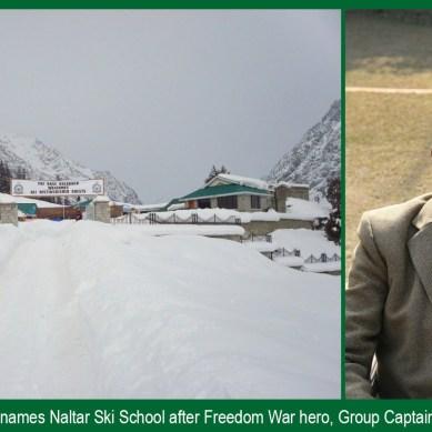 PAF Ski School renamed after Group Captain Shah Khan