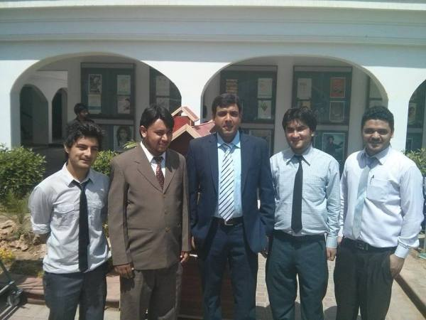 The team behind the project. All members belong to Gilgit-Baltistan