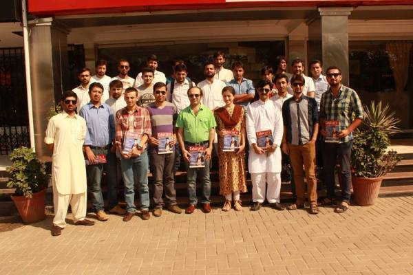 Group photo of the old and new executive committee members with  goodwill partners