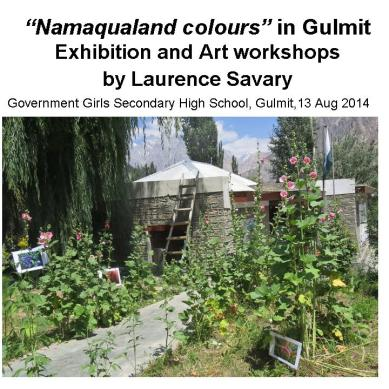 Exchanging Colours: From Gulmit (Hunza) to South Africa