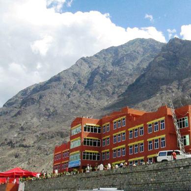 Baab-al-Ilm school and hostel inaugurated in Barmas, Gilgit