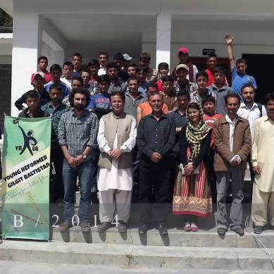 Team YRGB reaches Gojal Valley to educate students on career planning