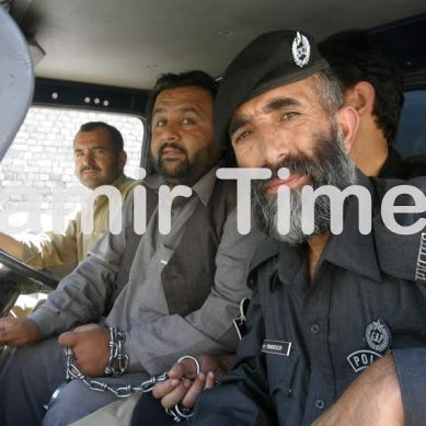 Renowned progressive leader Baba Jan turns himself in at ATC, Gilgit