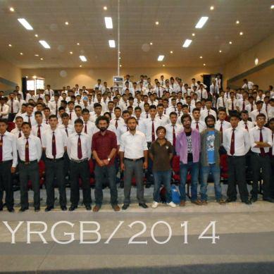 YRGB volunteers discuss career planning at Cadet College Skardu