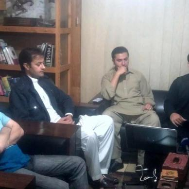 Breaking News: Van blast not an act of terrorism, DC Gilgit tells media