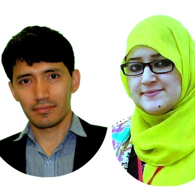 Anita and Meboob Ali from Gilgit-Baltistan to attend UNDP's conference