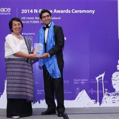 Meet the N-Peace Award Winner, Mr.Shah Zaman