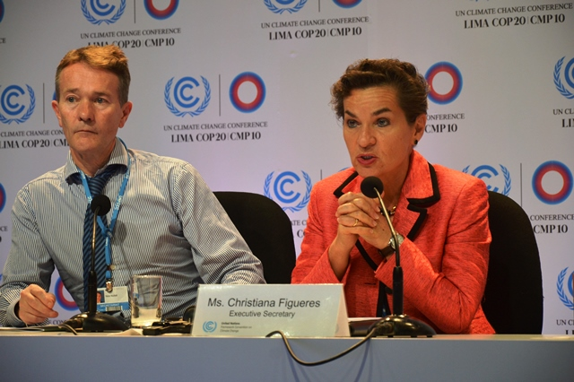 $100 bln climate finance goal 'a very small amount, says Christiana Figueres