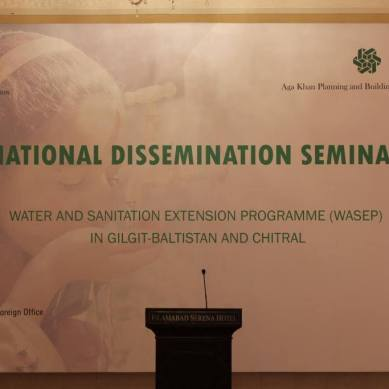 Water and Sanitation: German govt and AKDN help improve lives in Gilgit Baltistan and Chitral