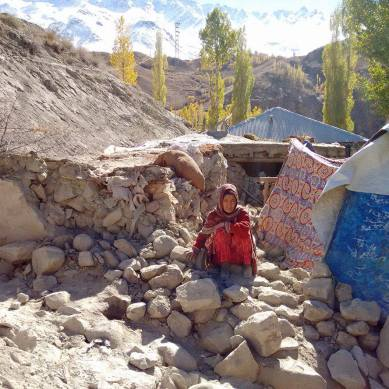 [Pictorial] The scale of destruction caused by the earthquake in Phandar Valley of Gilgit-Baltistan is immense