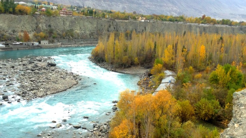 Beautiful photographs of autumn in Danyore and Gilgit city