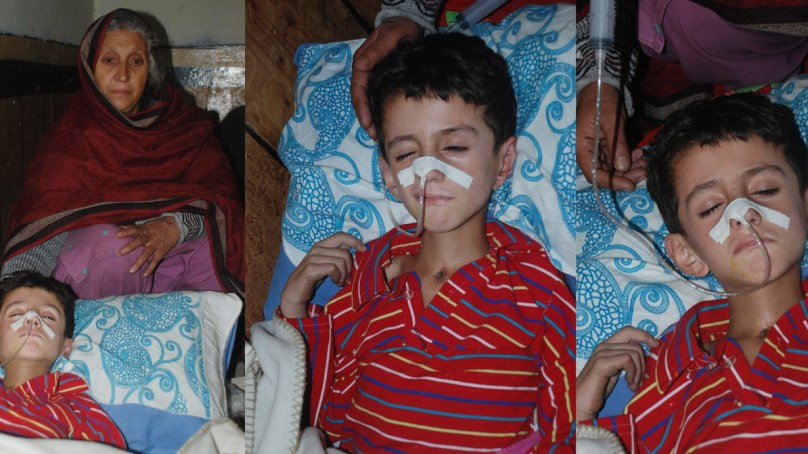 Child surviving earthquake lives in coma, mother forced to bring him back from Islamabad due to mounting expenses