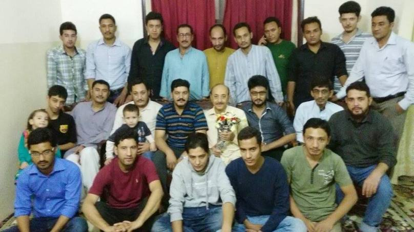 Siksa Students Welfare Organization leaders call on Dr. Yawar Abbas