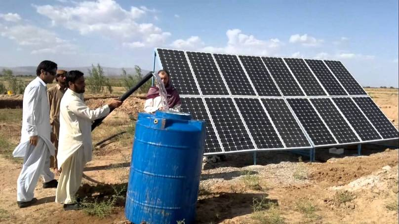 Solar-powered tubewells revive farming in drought-hit Soan valley