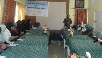 Training session on communication skills held in Kashrote, Gilgit