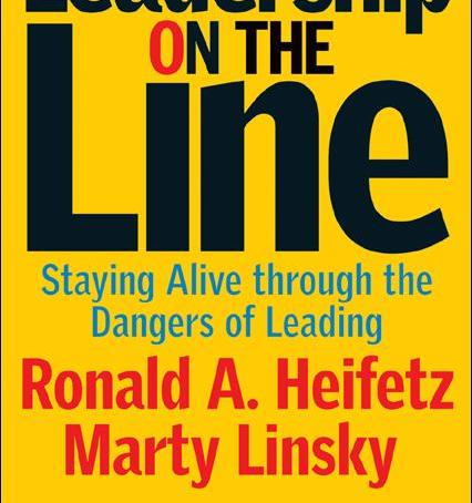Book Review – Leadership on the line