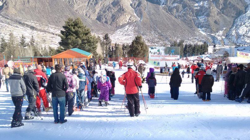 Ski Chairlift opened for visitors in Naltar, Gilgit