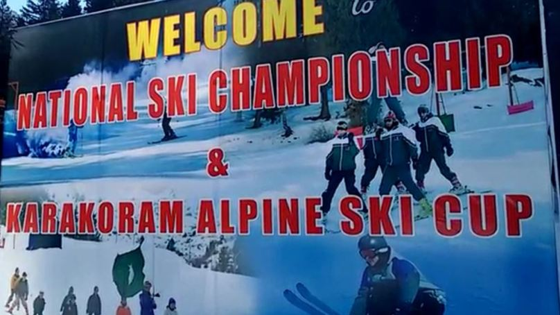 Naltar: 4 Turkish, 13 Pakistani, players take part in Karakoram Alpine Ski Championship