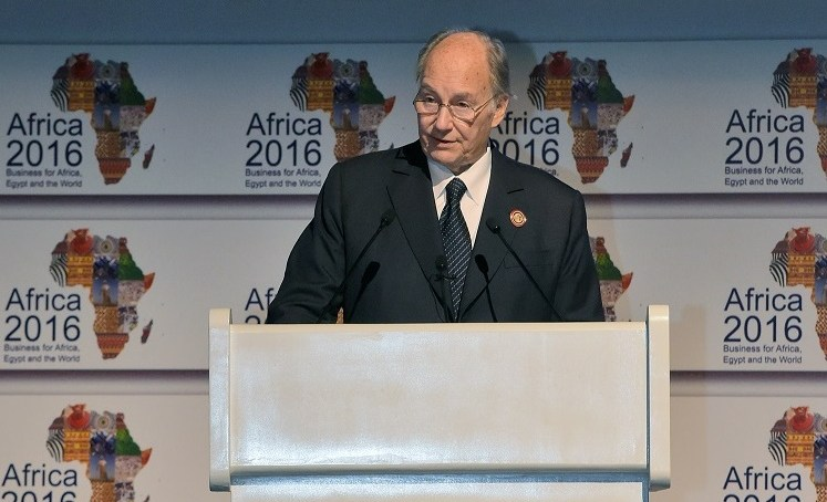 Africa's moment has come, says the Aga Khan