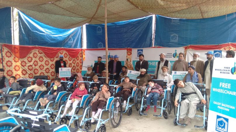 Al-Khidmat Foundation donates wheelchairs to 50 differently able persons