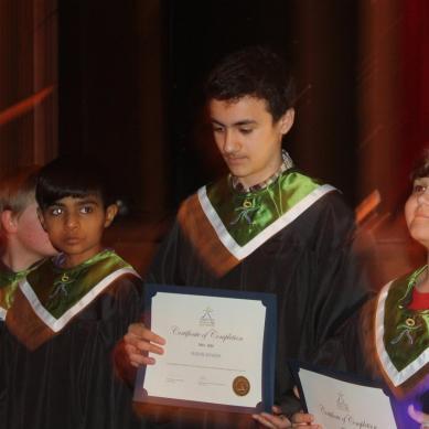 "Imran Myrieh from Gilgit wins ""I Will Succeed Award"""