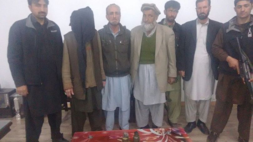 Counter Terrorism Department Gilgit arrests suspect, recovers two hand grenades