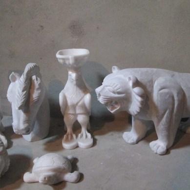 Iqbal Qasim: a sculptor par excellence