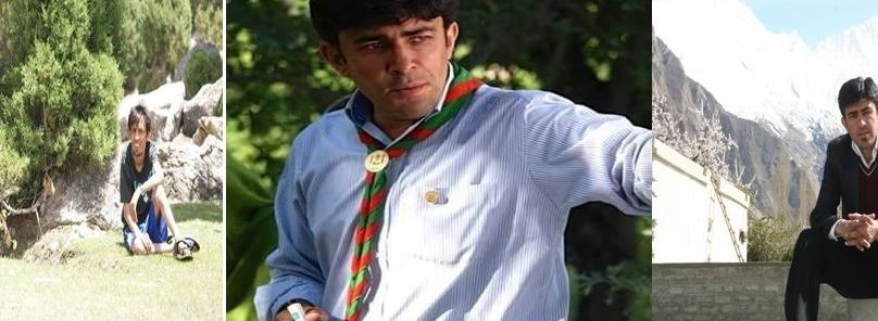 Remembering Late. Amin Hussain, a young activist