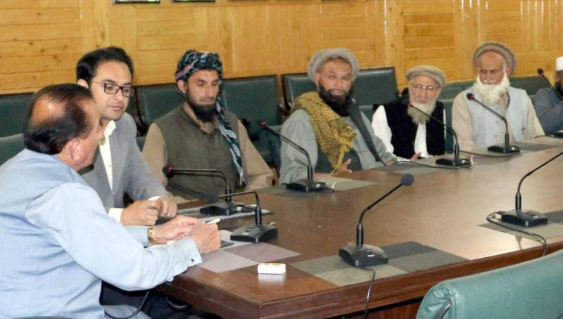 Governor calls for peaceful settlement of border dispute between Diamer and Kohistan