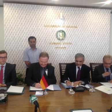 Germany provides grant worth 6 Million Euros for establishing Pakistan Glacial Monitoring Network
