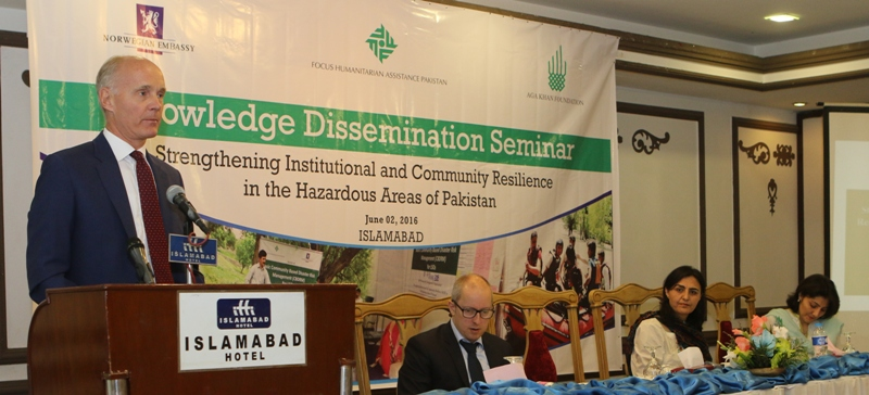 Pakistan's disaster vulnerability can be reduced through institutional and community resilience
