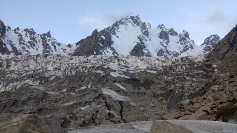 Another attempt to scale the unclimbed Gulmit Tower