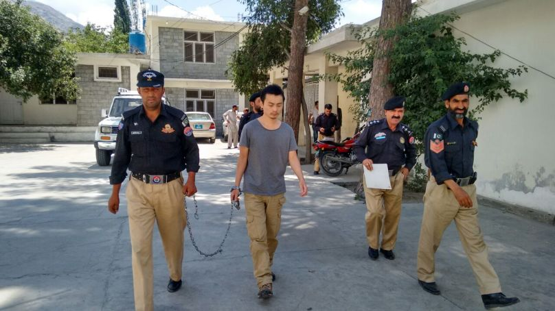 Arms Smuggling Case: Gilgit ATC sends Chinese national behind the bar for nine years