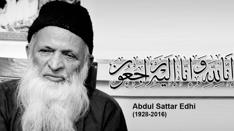 Leading humanitarian Abdul Sattar Edhi passes away in Karachi