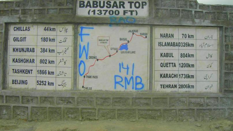 Pollution at Babusar