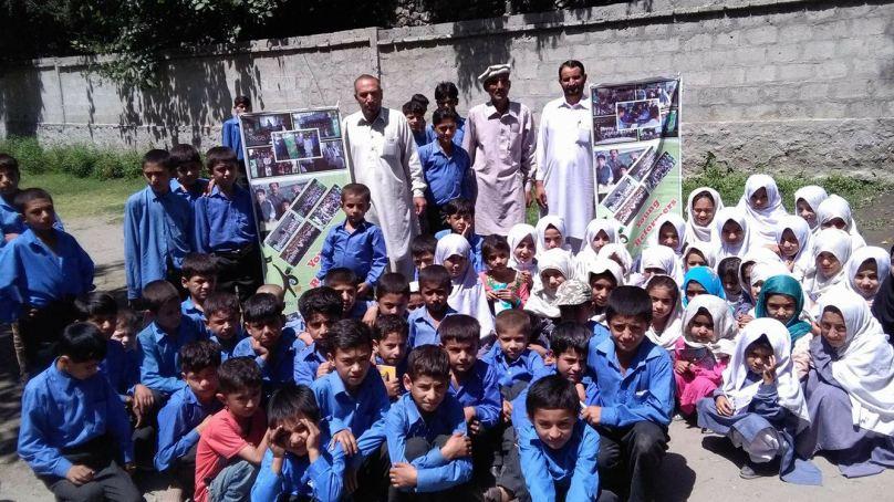 YRGB organizes educational sessions in Haramosh Valley, Gilgit