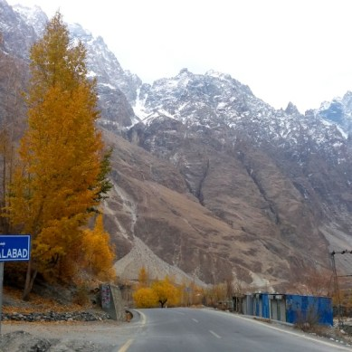 Pictorial – Last days of autumn in Gojal Valley, Hunza