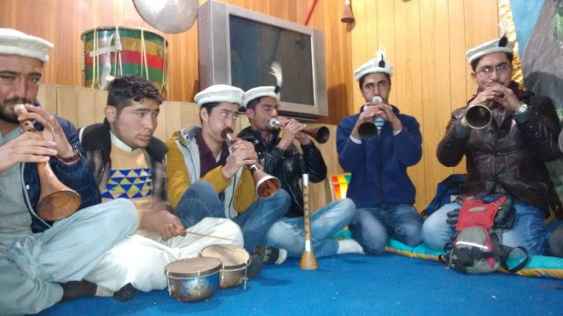 First batch of trainees graduate from the Traditional Music School in Gilgit.
